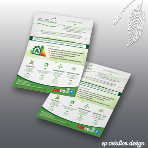 Flyers presentation de la Renovation a 1 euro