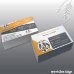 Cartes de visite d'EP Création Design