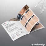 Brochure de présentation de bijoux pour 777Bijoux, créatrice de bijoux en argent massif